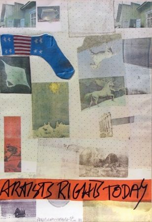 Lithographie Rauschenberg - Artist's Rights Today