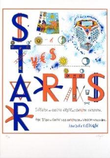 Sérigraphie Villeglé - Arts stars