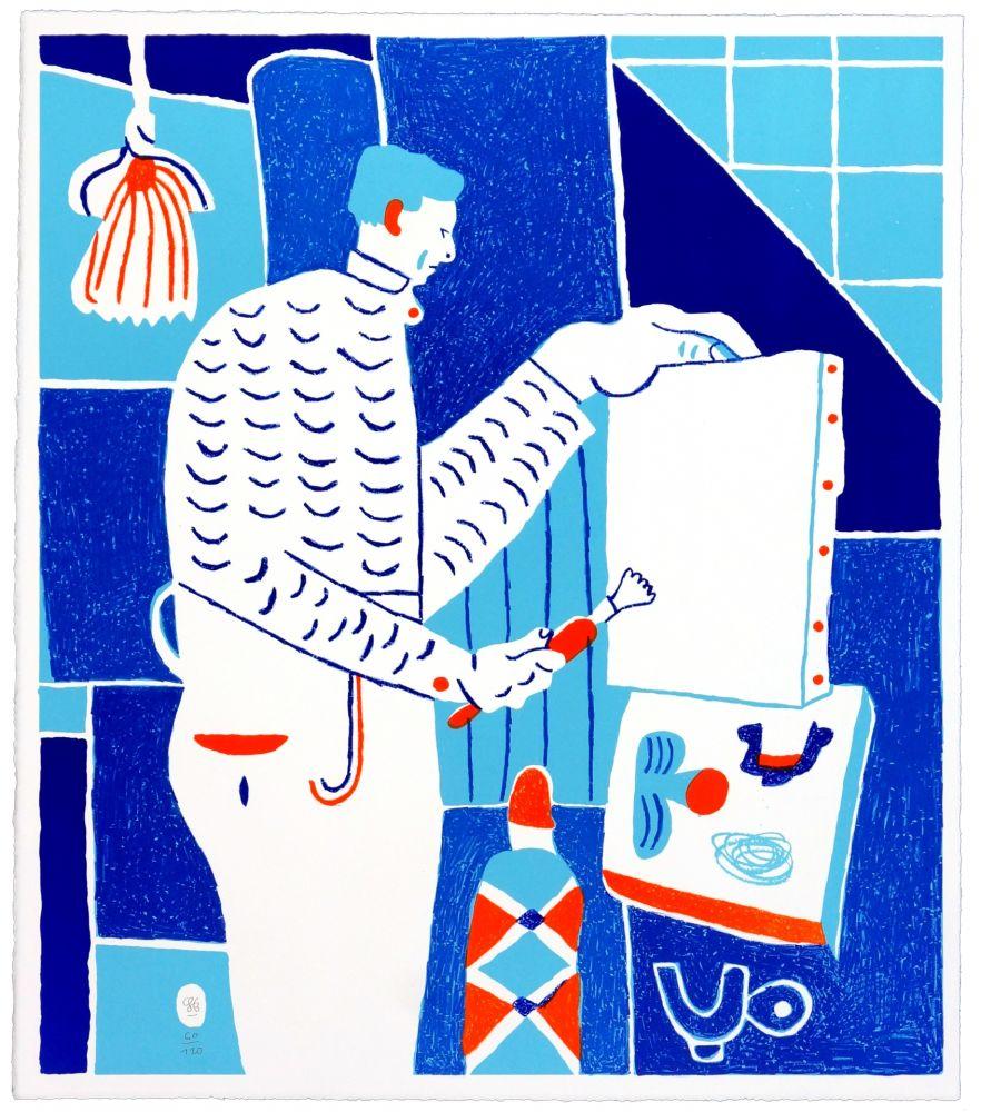 Lithographie Behncke - Asger Jorn