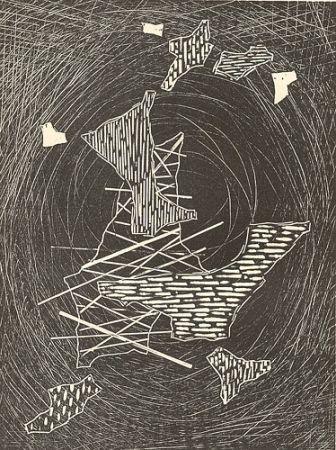 Gravure Sur Bois Veronesi - Aspettando il gran vento I
