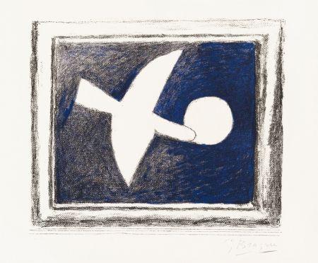 Lithographie Braque - Astre Et Oiseau (Star And Bird) I, 1958-59