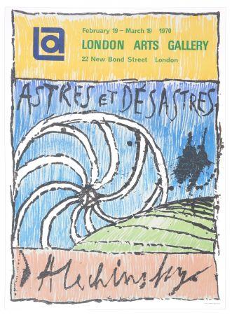 Affiche Alechinsky - Astres et Désastres, 1970