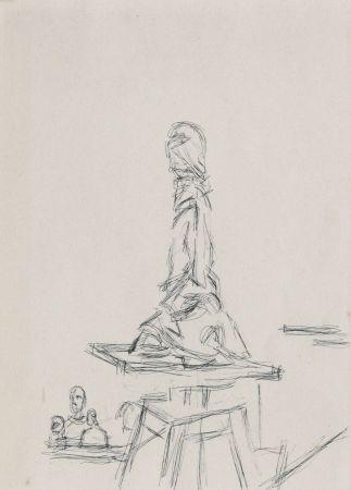 Aucune Technique Giacometti - Atelier à la sellette