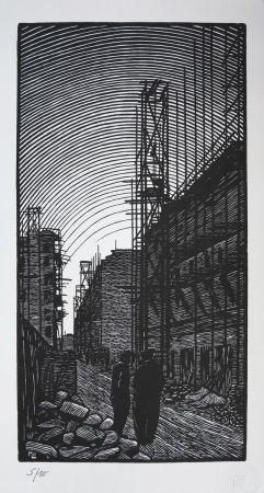 Gravure Sur Bois Moreau - Ateliers de Montreuil - Montreuil City / Plant - France 1912