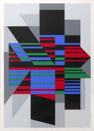 Sérigraphie Vasarely - Attila