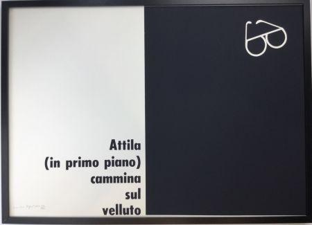 Sérigraphie Isgro - Attila