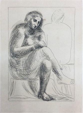 Eau-Forte Picasso - Au bain