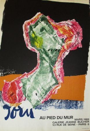 Affiche Jorn - Au Pied Du Mur