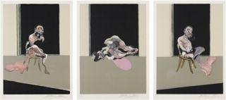 Gravure Bacon - August (triptych)