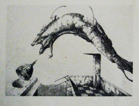 Eau-Forte Et Aquatinte Hernandez - Aura