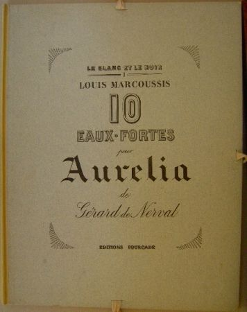 Gravure Marcoussis - Aurelia, 10 Eaux-fortes