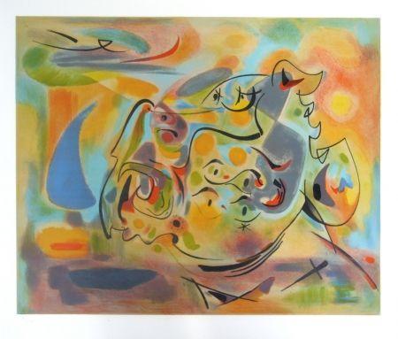 Lithographie Masson - Aurore