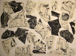 Lithographie Voss - Aus der Erinnerung