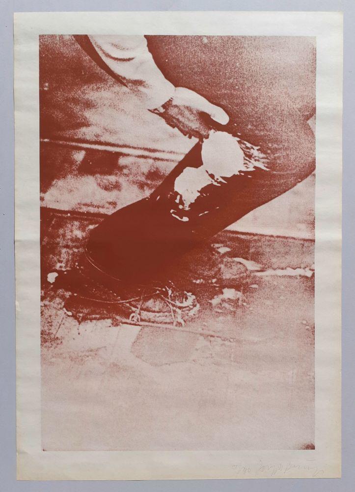 Sérigraphie Beuys - Aus Eurasienstab