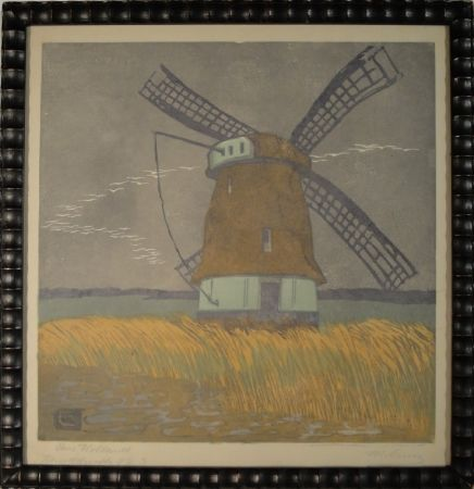 Gravure Sur Bois Cunz - Aus Holland