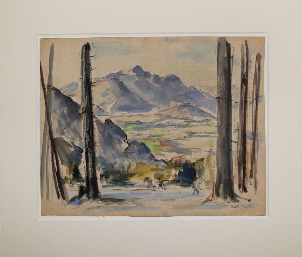 Aucune Technique Ludwig - Ausblick ins Tal (Valley View)