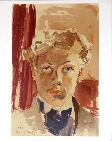 Lithographie Dufy - Auto-Portrait