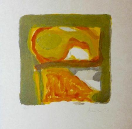 Lithographie Van Velde - Automne