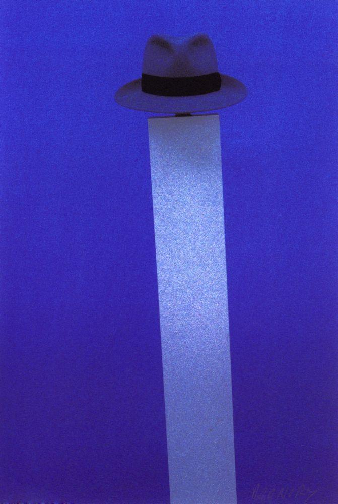 Sérigraphie Monory - Autoportrait