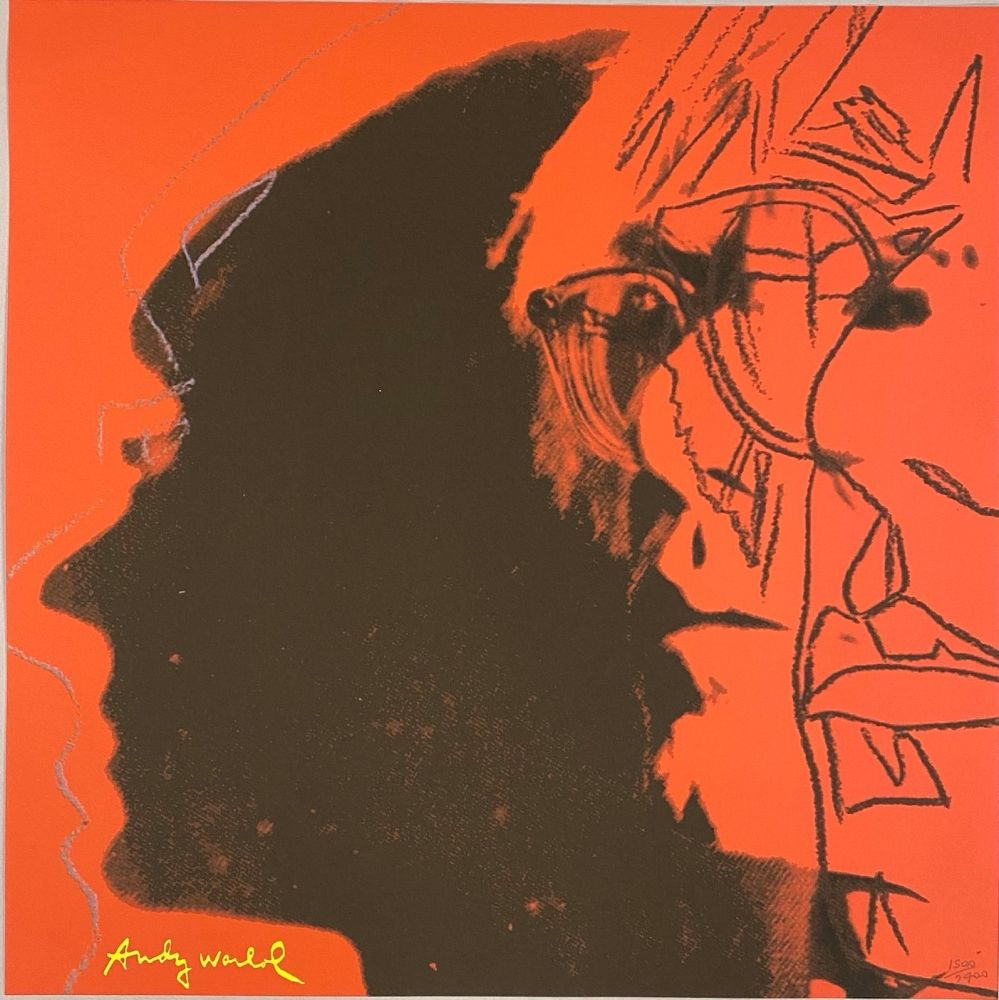 Offset Warhol - Autoportrait