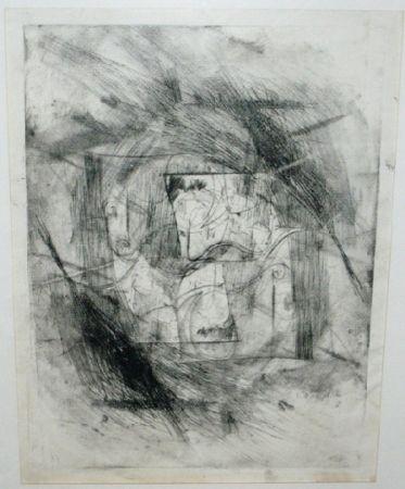 Pointe-Sèche Szafran - Autoportrait