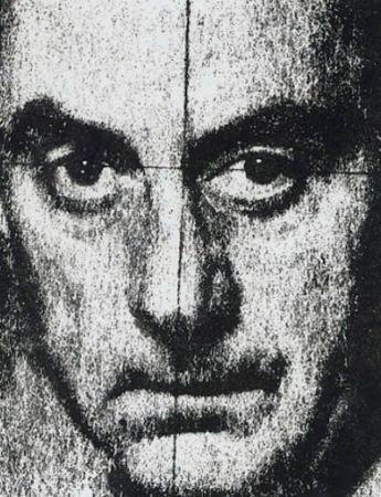 Sérigraphie Ray - Autoportrait 1972