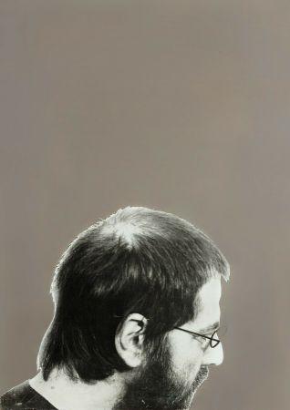 Sérigraphie Pistoletto - Autoritratto, 1970