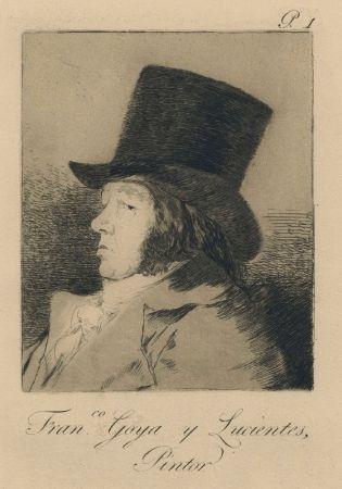 Gravure Goya - Autorretrato