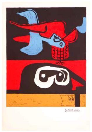 Lithographie Le Corbusier - Autrement que sur terre (Otherworldy)