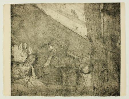 Gravure Degas - Aux  Ambassadeurs