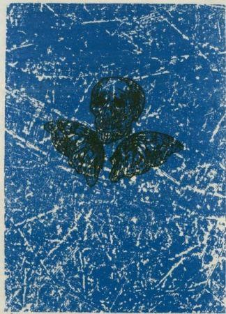 Lithographie Ernst - Aux Petits Agneaux
