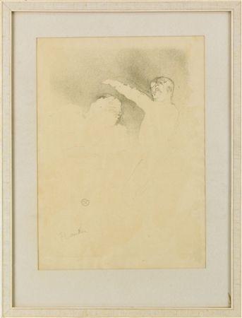 Lithographie Toulouse-Lautrec - Aux Variétés: Mademoiselle Lender et Brasseur