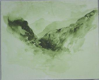 Sérigraphie Buraglio - Avec Delacroix, en Chine