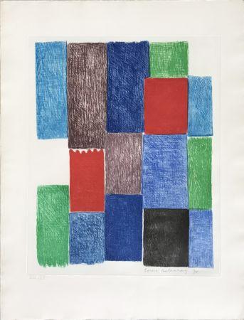 Gravure Delaunay - Avec moi-meme - Plate 10
