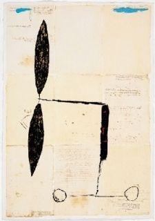Multiple Riera I Aragó - Avió hèlix daurada sobre manuscrits