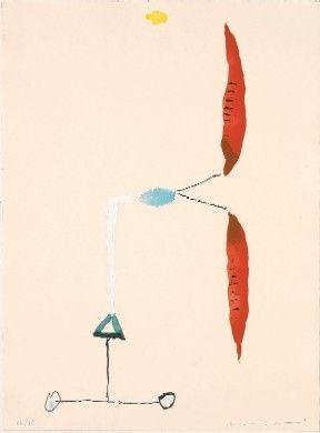 Gravure Riera I Aragó - Avió hèlix vermella