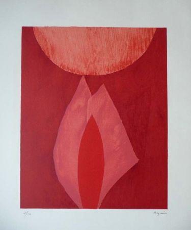 Lithographie Bazaine - AVL MAM 1975