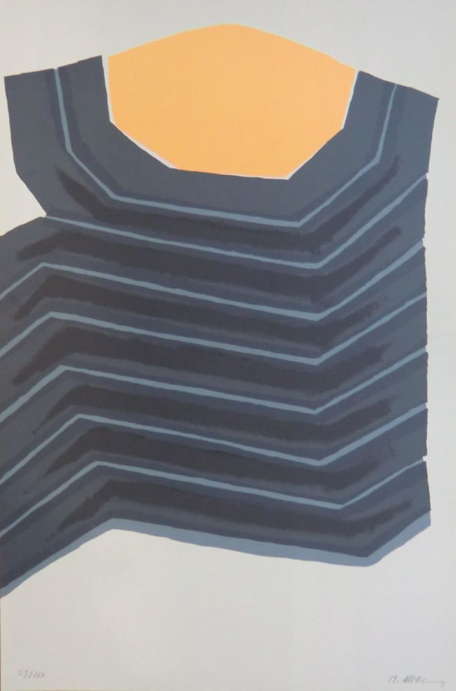 Lithographie Ubac - AVL Zurich
