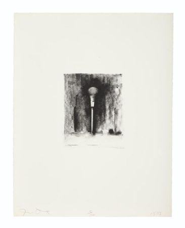Lithographie Dine - Awl