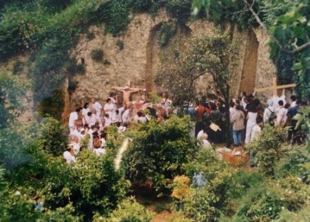 Photographie Nitsch - Azione N. 96 – Giardini S. Martino A Napoli