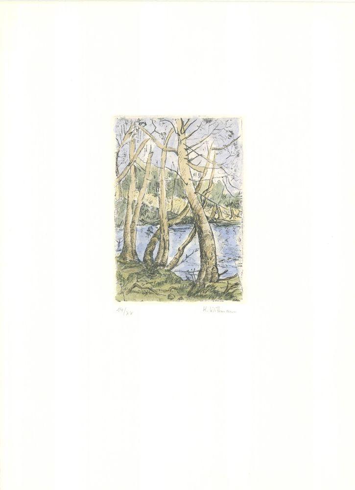 Gravure Wittmann - Bäume