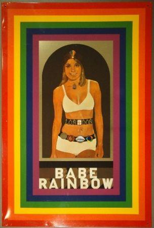 Sérigraphie Blake - Babe Rainbow