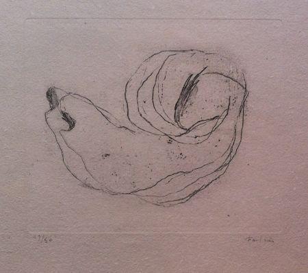 Eau-Forte Fautrier - Baby-Shell