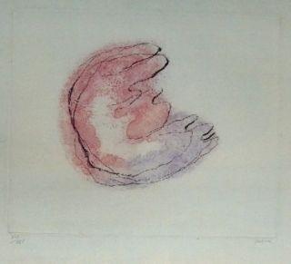 Eau-Forte Et Aquatinte Fautrier - Baby Mine