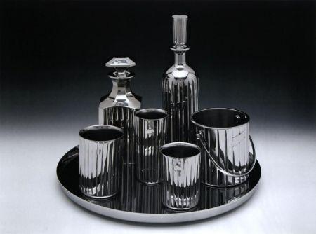 Lithographie Koons - Baccarat Crystal Set