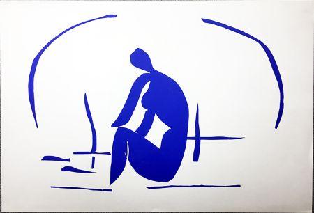 Lithographie Matisse - Baigneuse Dans Les Roseaux. Lithographie pour VERVE. 1958