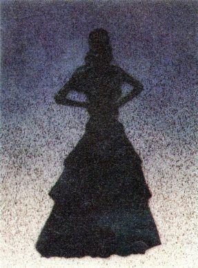 Lithographie Ruscha - Bailarina