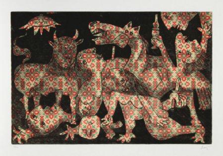 Eau-Forte Et Aquatinte Baj - Baj chez Picasso