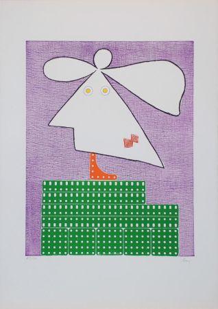 Gravure Baj - Baj chez Picasso 9