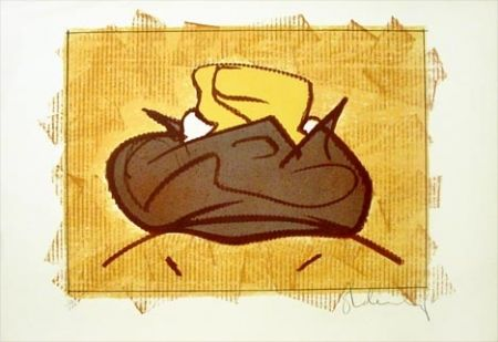 Lithographie Oldenburg - Baked Potato With Butter